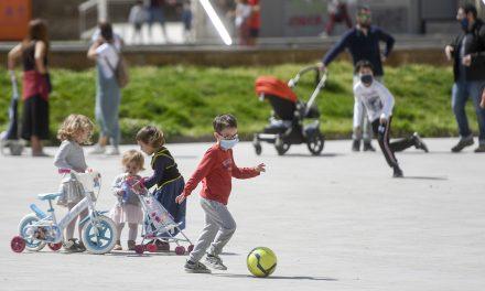¿Es conveniente que los niños salgan hoy a las calles, en medio de la pandemia?