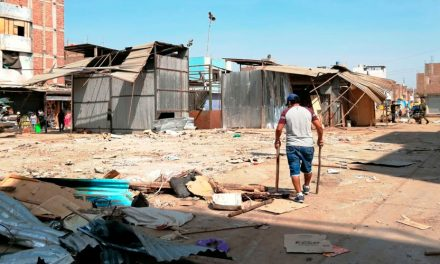 La Hermelinda: Avenida Pucará es liberada de ambulantes