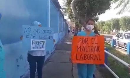 Enfermeras de EsSalud denuncian malas condiciones de trabajo