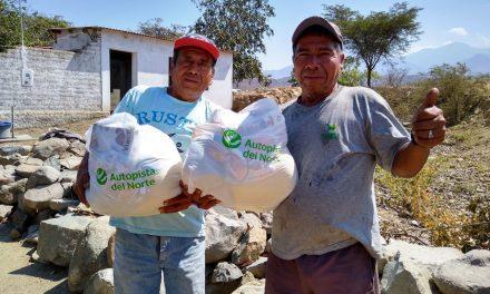 2, 310 familias de situación vulnerable en Virú reciben alimentos por parte de Autopista del Norte