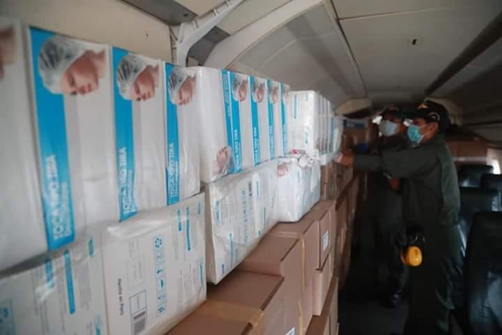La Libertad: Llegan 15 000 pruebas rápidas y 3 toneladas de insumos médicos