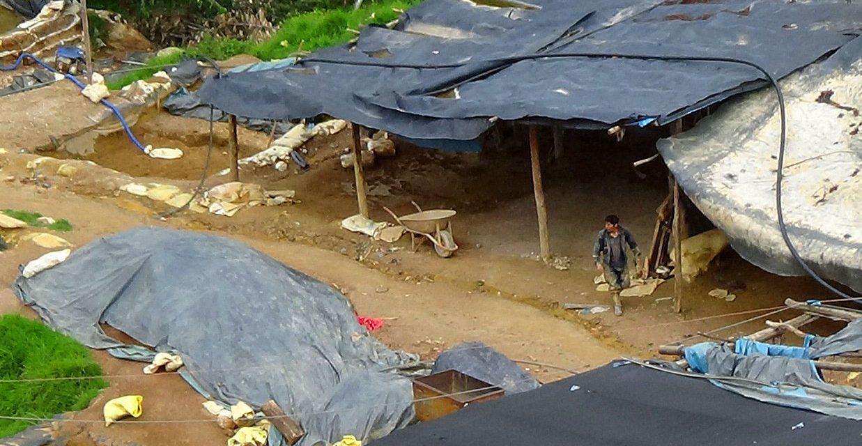 Minería ilegal pone en riesgo a comunidades cercanas al cerro El Toro