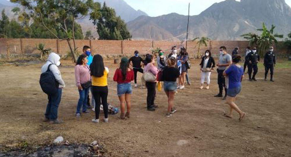 La Libertad: PNP detiene a 20 personas cuando jugaban una yunza en pleno toque de queda