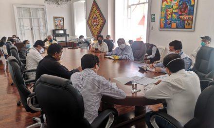 El Gobierno Regional y la Sociedad Civil pactaron reforzar participación ciudadana en estado de emergencia