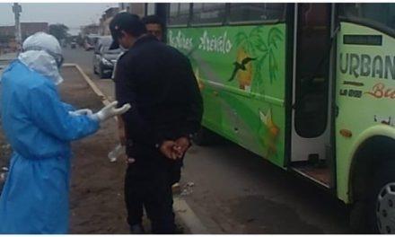 Hombre fallece al interior de bus de Nuevo California