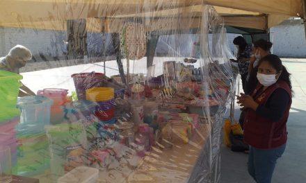 Comuna implementa espacio EN MAGDALENA DE CAO para vender productos de primera necesidad