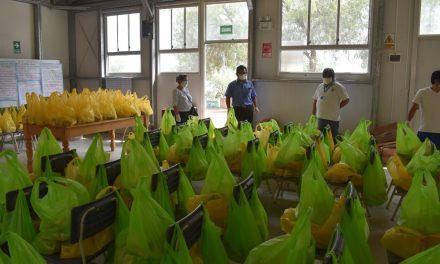 GRELL inspeccionó entrega de alimentos y material educativo a Qali Warma