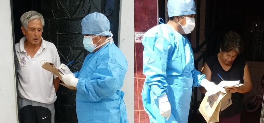 Cerca de 2500 pacientes fueron atendidos en sus casas por EsSalud