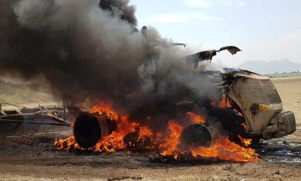 Casa Grande: Extorsionadores disparan y queman tractor de empresario agrícola
