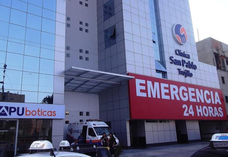 Denuncian cobros excesivos en clínica San Pablo de Trujillo