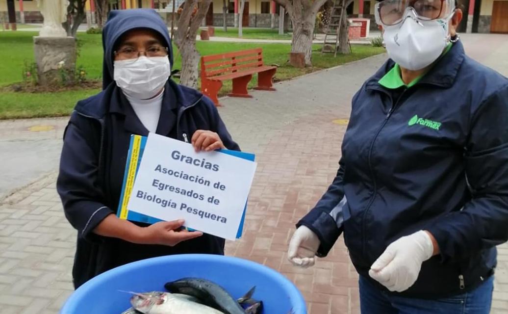 UNT dona 150 kilos de pescado a comedores y casas hogares