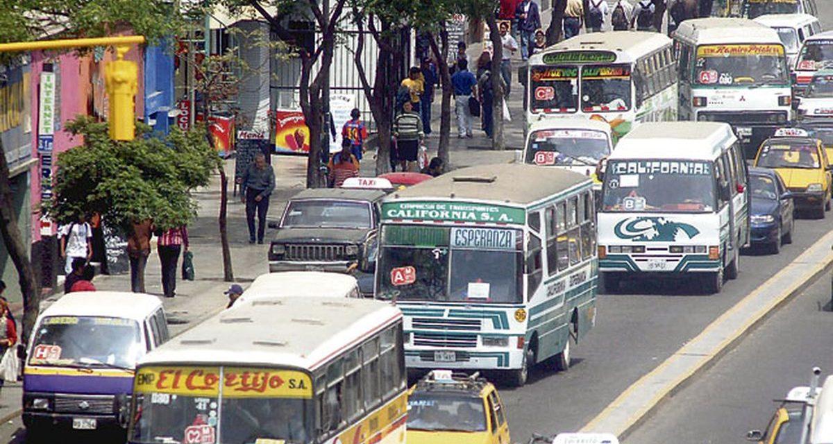 Trujillo: Tarifa de transporte urbano podría elevarse