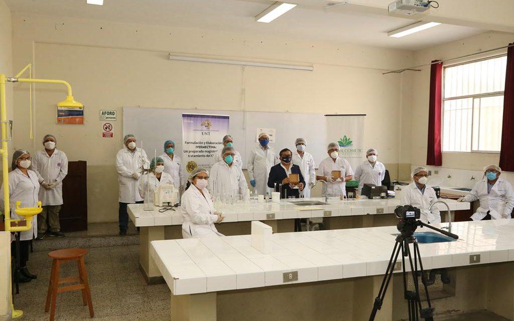 Realizan primera producción de ivermectina en la UNT