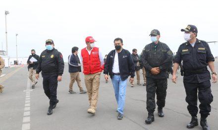 Ministro del Interior llegó a Trujillo