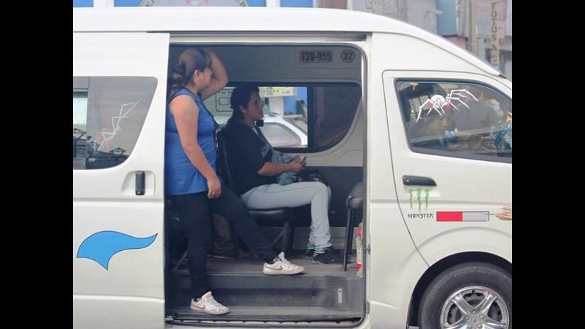 MPT autoriza circulación del 30% de combis en la provincia