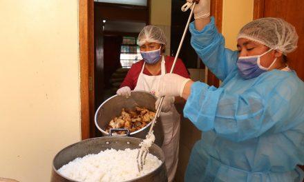 Cocinas solidarias darán 400 almuerzos diarios a familias afectadas en distritos