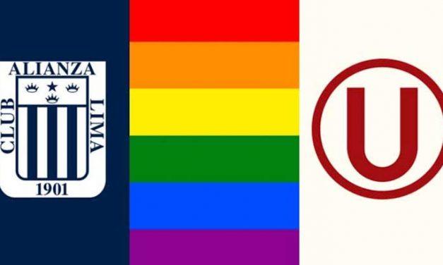 Alianza Lima y Univeritario envían saludo de tolerancia por Día del Orgullo LGTB+