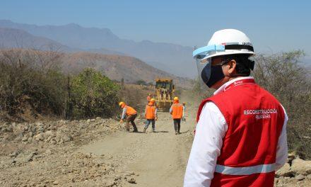 Con dos obras en Simbal  se reinicia la reconstrucción en La Libertad