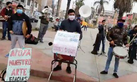 Jóvenes crean la Covid Band para tocar marinera en plena pandemia