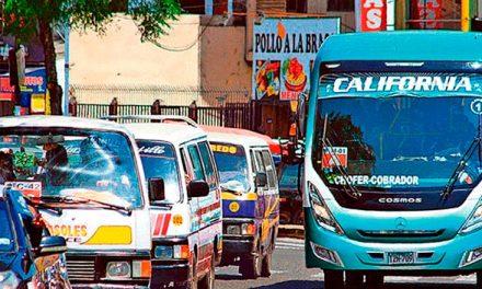 Transporte público de Trujillo volvería a operar al 100 %
